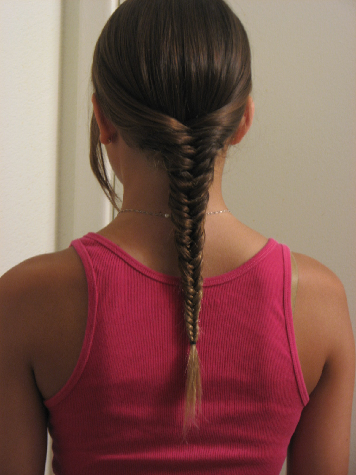 Hair Tutorial: Fishtail Braiding