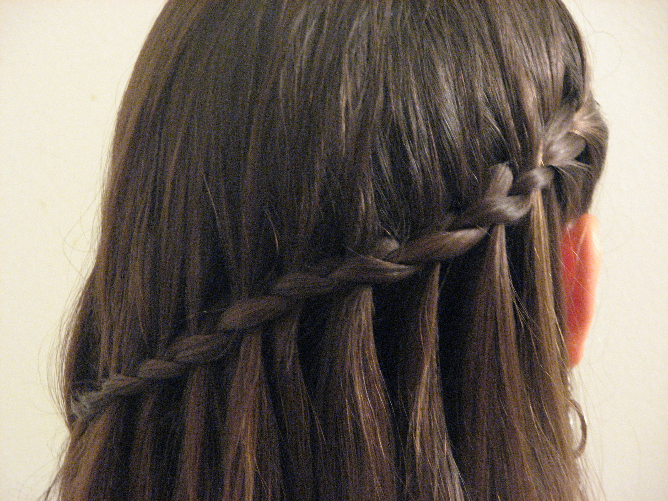 Hair Tutorial: Waterfall Braiding