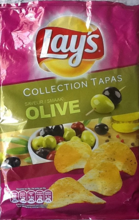 Lays Olive Potato Chips