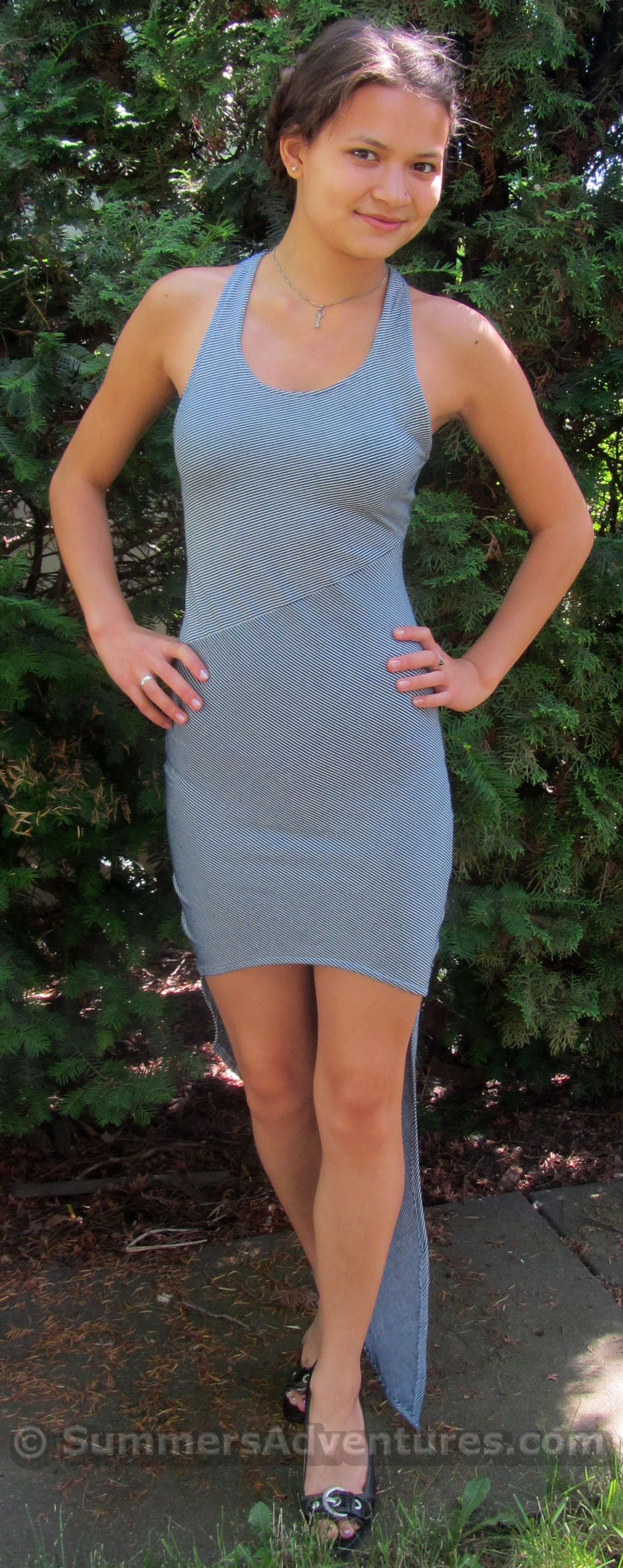 DIY: High Low Dress
