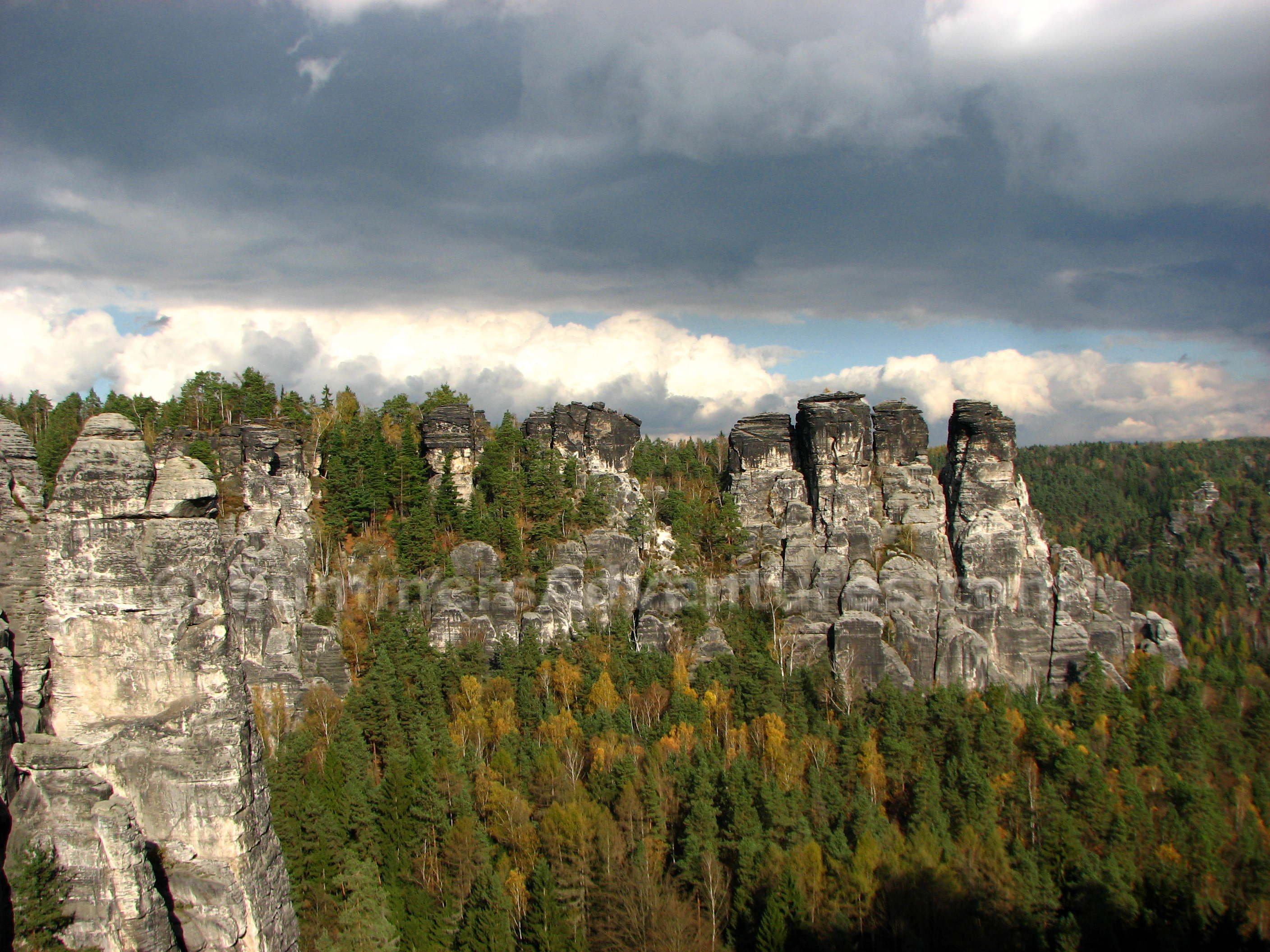 Through My Eyes:  Elbe Sandstone Mountains