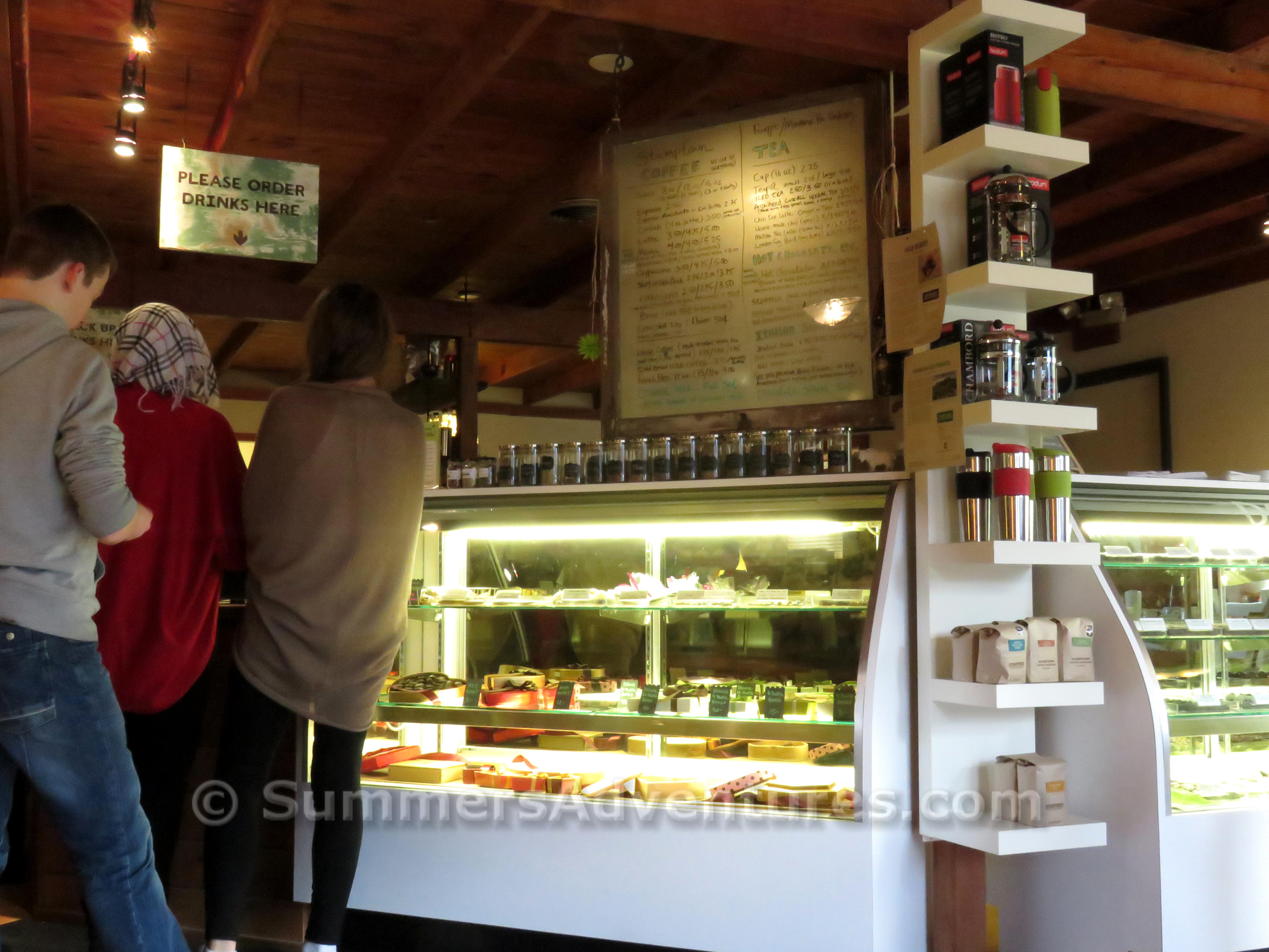 Arrowhead Chocolate Shop, Oregon
